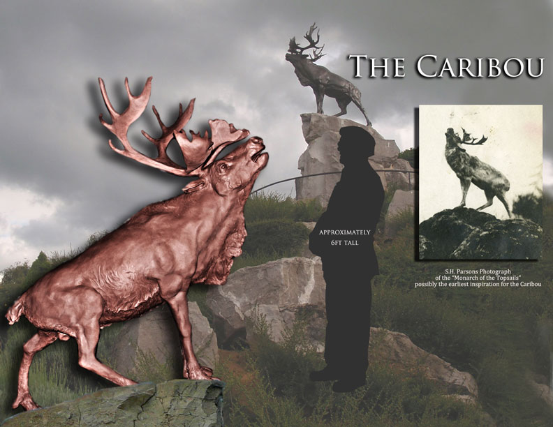caribou-6ft-tall